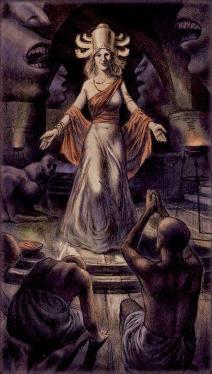 Таро Черный Гримуар Empress