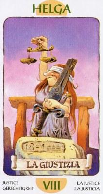 Таро Гномов. Старшие Арканы. Justice