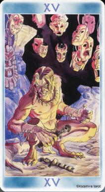 Таро Шаманов (Shaman Tarot) Devil
