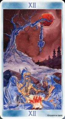 Таро Шаманов (Shaman Tarot) HangedMan